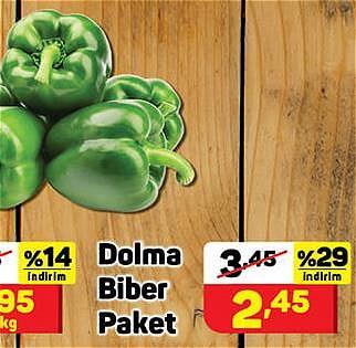 Dolma Biber Paket image