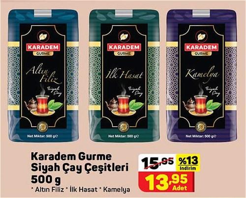 Karadem Gurme Siyah Çay Çeşitleri 500 g image