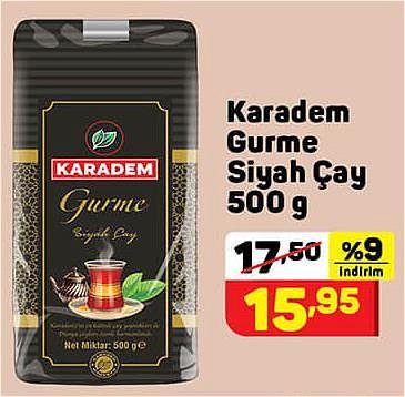 Karadem Gurme Siyah Çay 500 g image