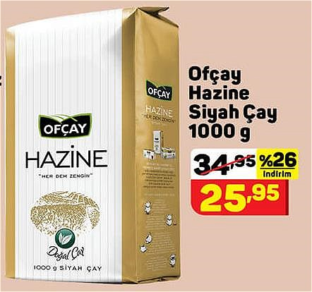 Ofçay Hazine Siyah Çay 1000 g image