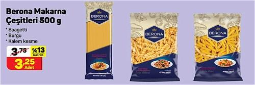 Berona Makarna Çeşitleri 500 g image