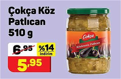 Çokça Köz Patlıcan 510 g image