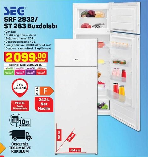 Seg SRF 2832/ST 283 Buzdolabı image