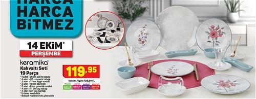 Keramika Kahvaltı Seti 19 Parça image