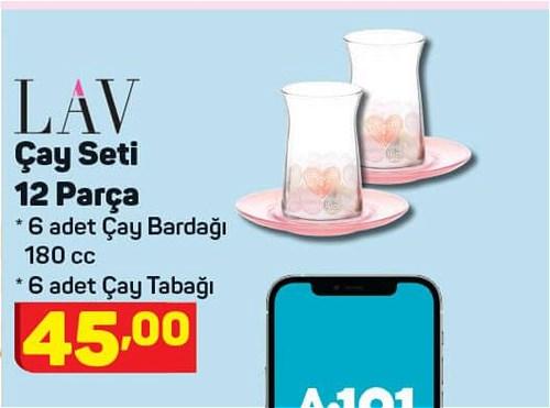 Lav Çay Seti 12 Parça image