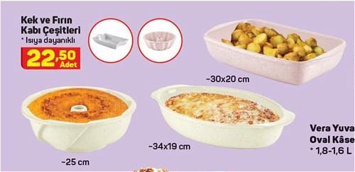 Kek ve Fırın Kabı Çeşitleri image