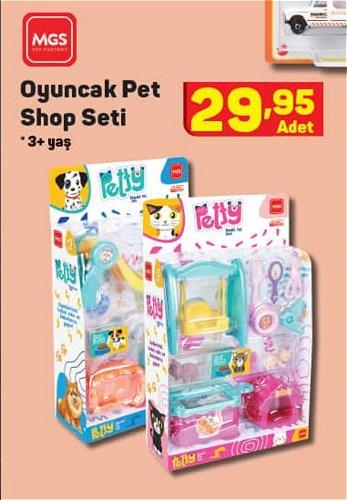 Mgs Oyuncak Pet Shop Seti image