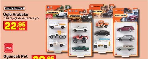 Matchbox Üçlü Arabalar image