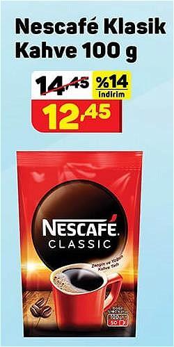 Nescafe Klasik Kahve 100 g image