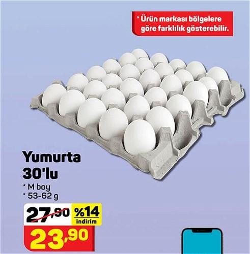 Yumurta 30'lu M Boy 53-62 g image