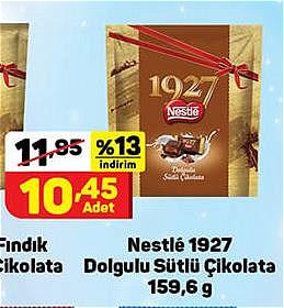 Nestle 1927 Dolgulu Sütlü Çikolata 159,6 g image
