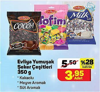 Evliya Yumuşak Şeker Çeşitleri 350 g image