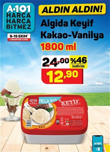 Algida Keyif Kakao-Vanilya 1800 ml image