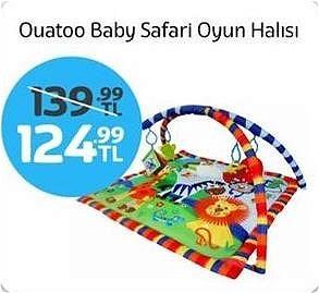 Ouatoo Baby Safari Oyun Halısı image