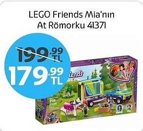 Lego Friends Mia'nın At Römorku 41371 image