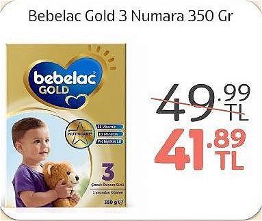 Bebelac Gold 3 Numara 350 gr image