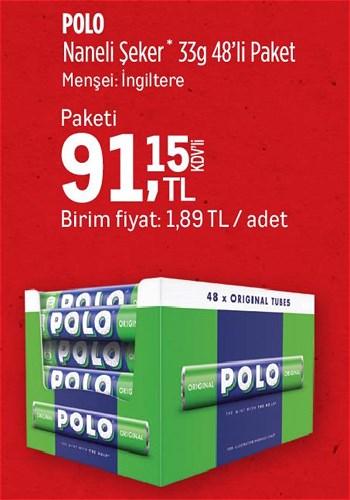 Polo Naneli Şeker 33 g 48'li Paket  image