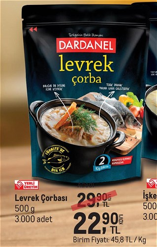 Dardanel Levrek Çorbası 500 g image