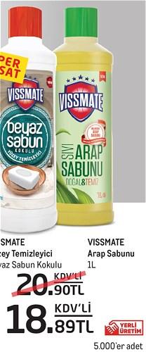 Vissmate Arap Sabunu 1 l image