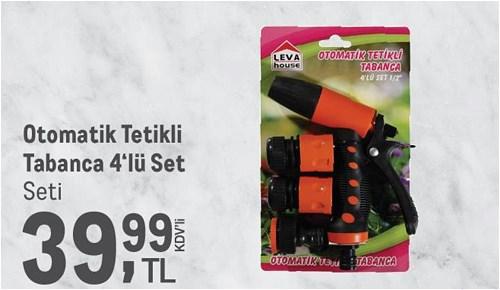 Leva House Otomatik Tetikli Tabanca 4'lü Set image