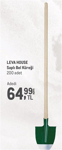 Leva House Saplı Bel Küreği image