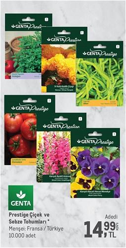 Genta Prestige Çiçek ve Sebze Tohumları image