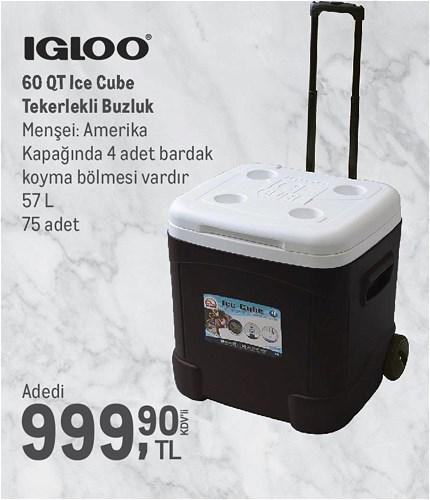 Igloo 60 QT Ice Cube Tekerlekli Buzluk 57 L image