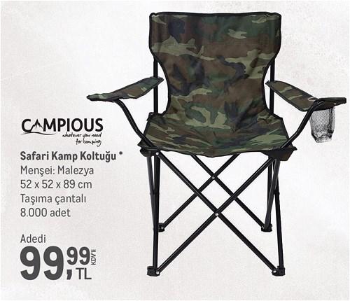 Campious Safari Kamp Koltuğu image