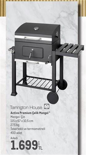 Tarrington House Activa Premium Çelik Mangal image