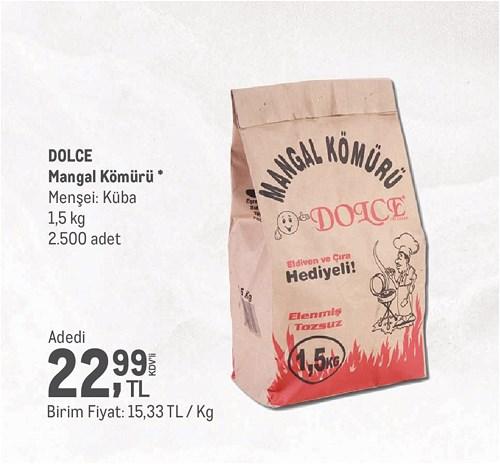 Dolce Mangal Kömürü 1,5 kg image