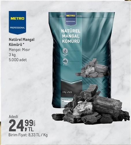 Metro Professional Natürel Mangal Kömürü 3 kg image