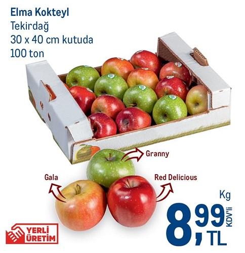 Elma Kokteyl Tekirdağ 30x40 cm Kutuda image