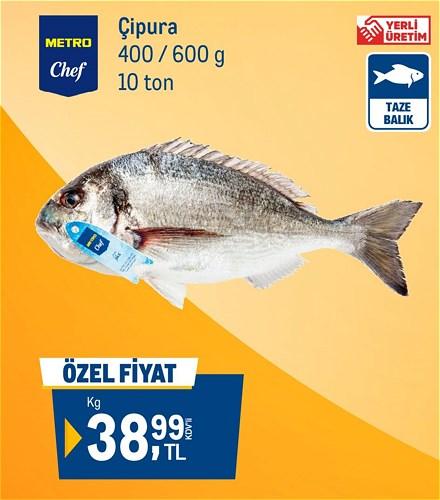 Metro Chef Çipura 400 / 600 g Kg image