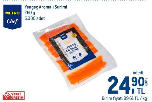Metro Chef Yengeç Aromalı Surimi 250 g image