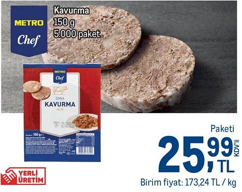 Metro Chef Kavurma 150 g image