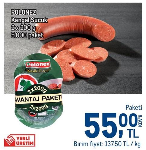 Polonez Kangal Sucuk 2x200 g image
