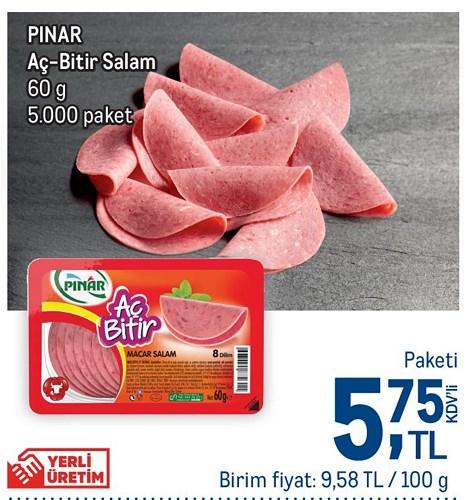 Pınar Aç Bitir Salam 60 g image
