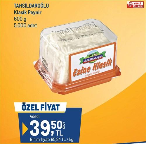 Tahsildaroğlu Klasik Peynir 600 g image