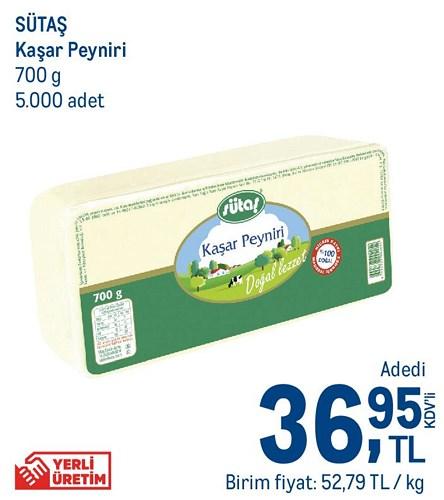 Sütaş Kaşar Peyniri 700 g image