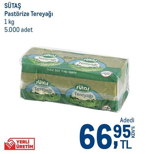 Sütaş Pastörize Tereyağı 1 kg image