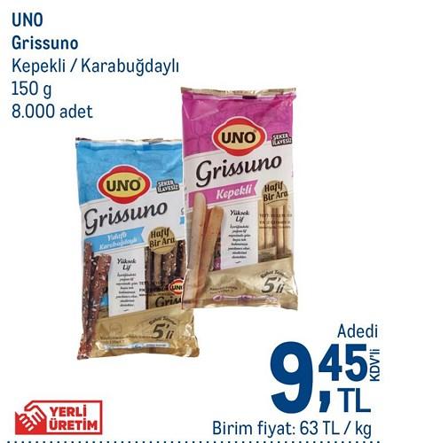 Uno Grissuno Kepekli/Karabuğdaylı 150 g image