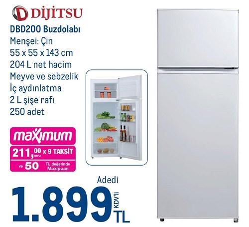 Dijitsu DBD200 Buzdolabı image