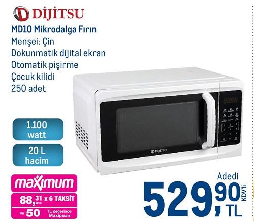 Dijitsu MD10 Mikrodalga Fırın 1100 W image