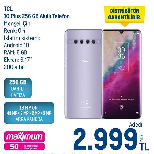 Tcl 10 Plus 256 Gb Akıllı Telefon image