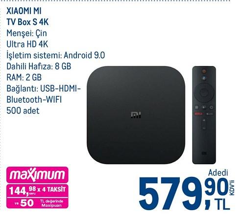 Xiaomi Mi Tv Box S 4K image