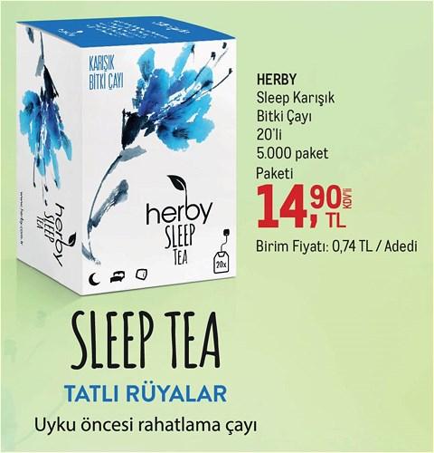 Herby Sleep Karışık Bitki Çayı 20'li image
