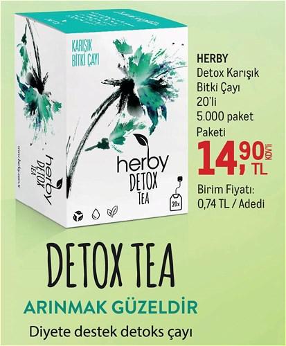 Herby Detox Karışık Bitki Çayı 20'li image