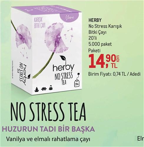 Herby No Stress Karışık Bitki Çayı 20'li image