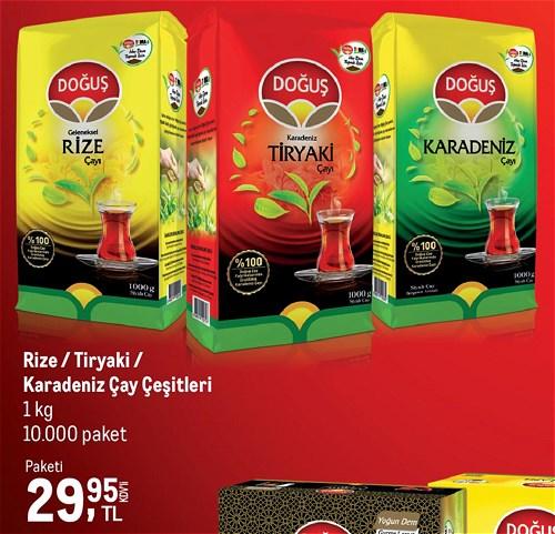 Doğuş Rize/Tiryaki/Karadeniz Çay Çeşitleri image
