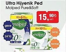 Molped Pure&Soft Ultra Hijyenik Ped  image